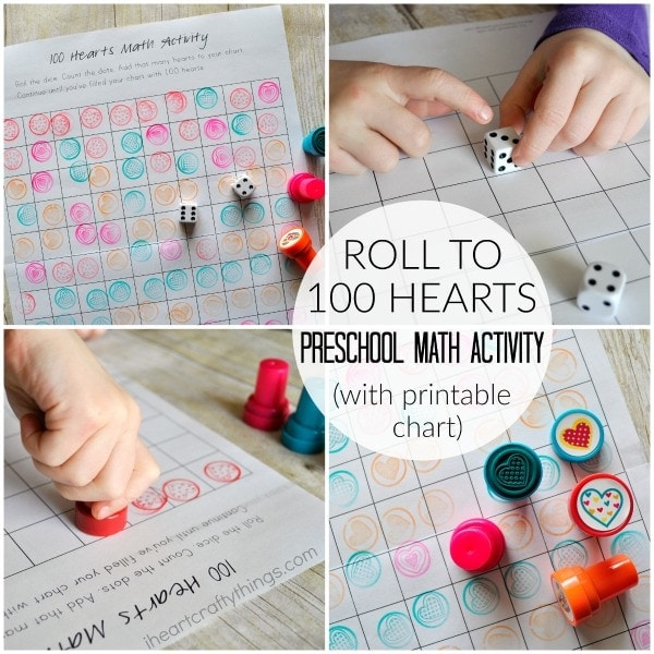 We Used Fun Little Heart Stamps In This Activity But You Could Also Use Stickers As An Alternative Make Sure To Check Out More Creative Preschool
