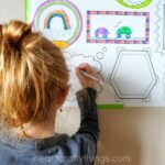 Erasable Frames Wall Decal – A Fun Way to Let the Kids Color on the Walls!
