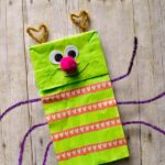 Paper Bag Love Bug Puppet