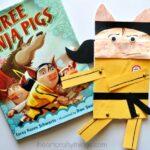 Three Ninja Pigs Craft for Kids