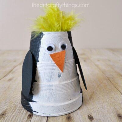Royal Penguin Kids Craft