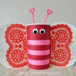 How to Make a Butterfly Valentine's Day Mailbox