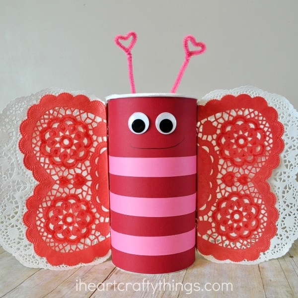 How to Make a Butterfly Valentines Day Mailbox – Valentine Card Boxes for School