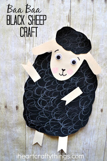 Dyed Cotton Ball Sheep Craft I Heart Crafty Things