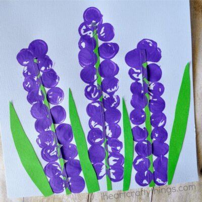Stunning Hyacinth Flower Craft for Kids