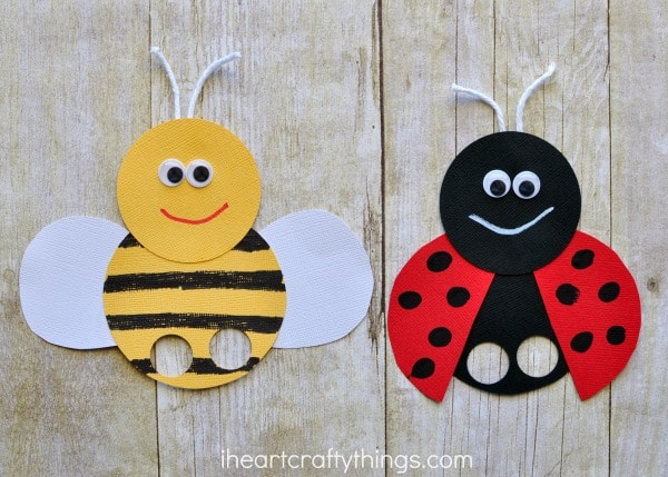 bee finger puppet template incredibly cute bee finger puppets craft i heart crafty