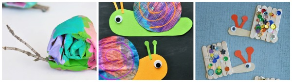 I Hope You Feel Inspired To Get Crafting With Your Kids After Checking Out All Of These Colorful Snail Crafts