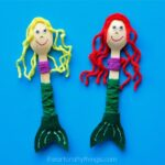 Wooden Spoon Mermaid Craft
