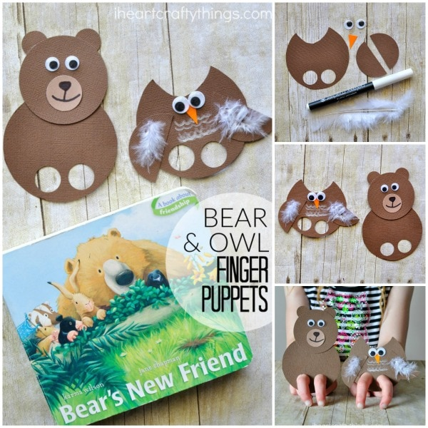bear-owl-finger-puppets-collage