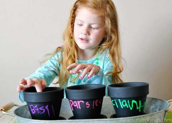How to make a children's herb garden with gro-ables