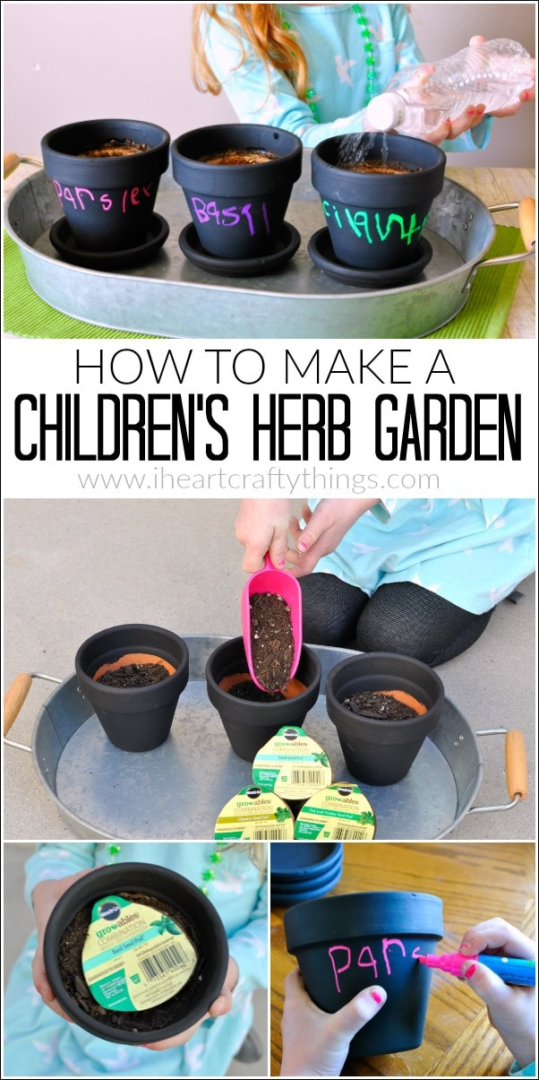 How to make a Children's Herb Garden with Miracle-Gro gro-ables