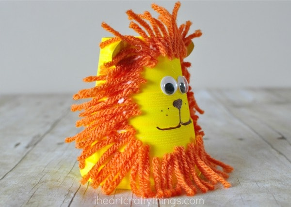 foam-cup-lion-craft-3