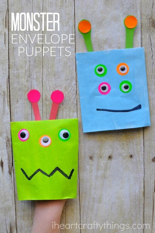 monster-envelope-puppets