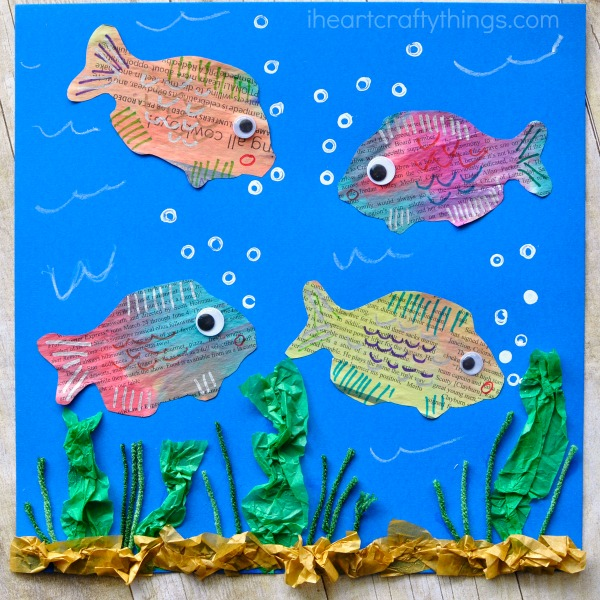 newspaper-fish-art-project-2