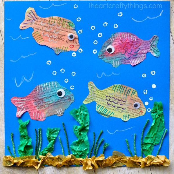 newspaper-fish-art-project-2