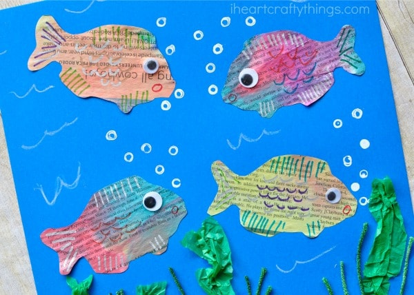 newspaper-fish-art-project-3