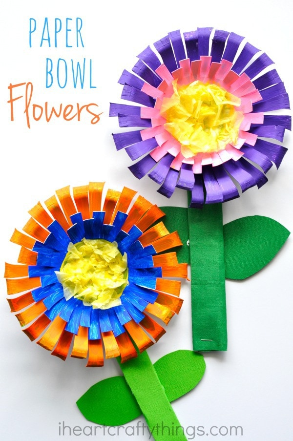 93 Spring Flower Crafts Preschool Spring Crafts For Kids 20