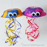 Colorful Jellyfish Craft for Kids