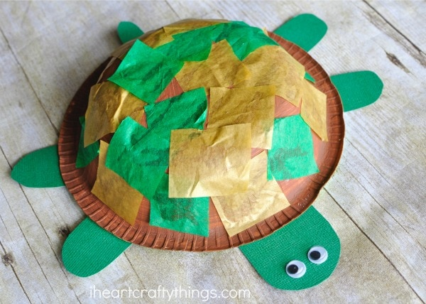 Paper Plate Turtle Craft For Kids Printable Template Six : paper plate turtle craft template - pezcame.com