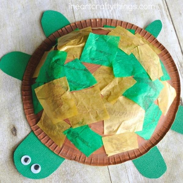 paper-bowl-turtle-craft