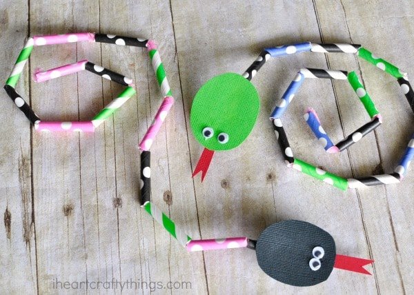 Bendable Snake Craft for Kids