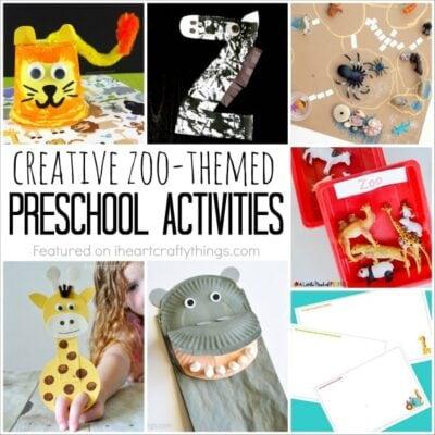 Creative Zoo Themed Preschool Activities