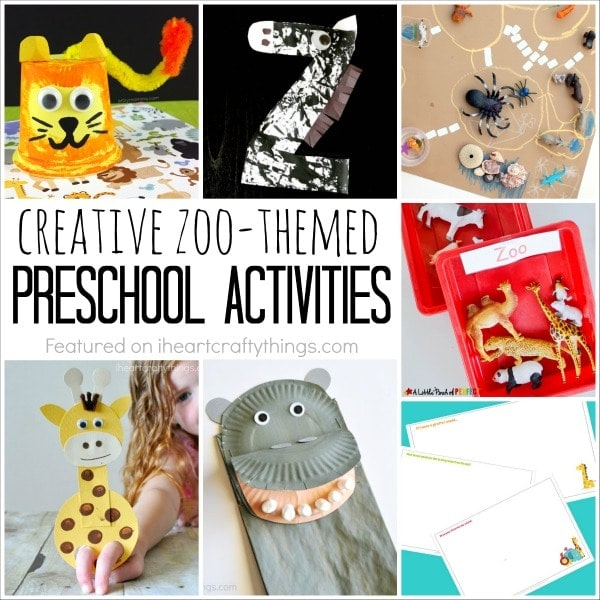 A child's love for the zoo and animals makes a zoo theme a great preschool topic. Here are 12 creative zoo themed preschool activities your kids will love.