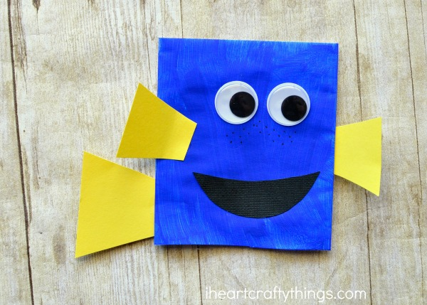 e1fb5920e6b Finding Dory Craft Envelope Puppets