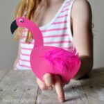 Playful Flamingo Kids Craft