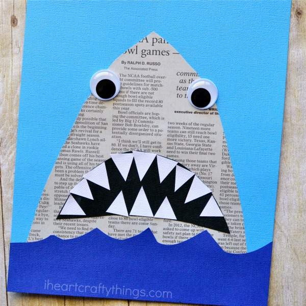 newspaper-shark-craft-2
