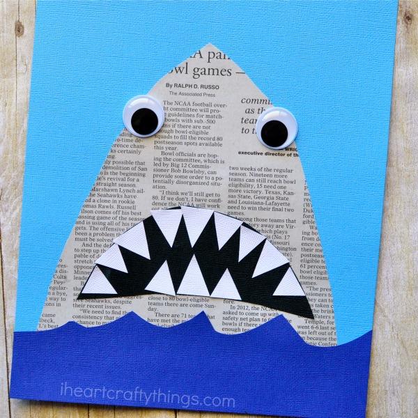 newspaper-shark-craft-2