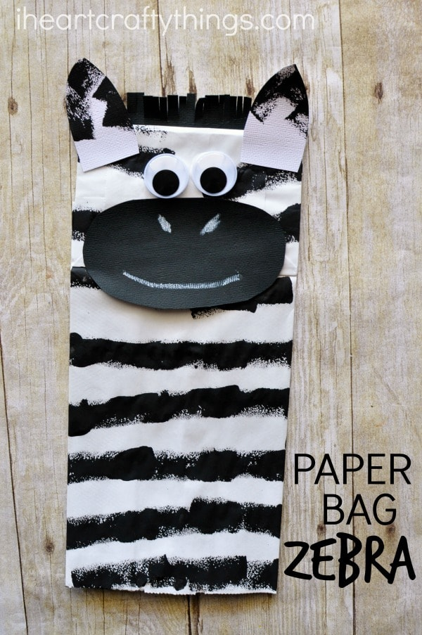 paper-bag-zebra-craft