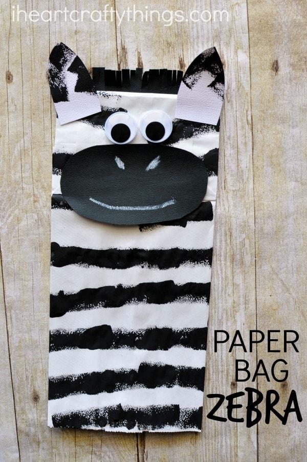 paper-bag-zebra-craft