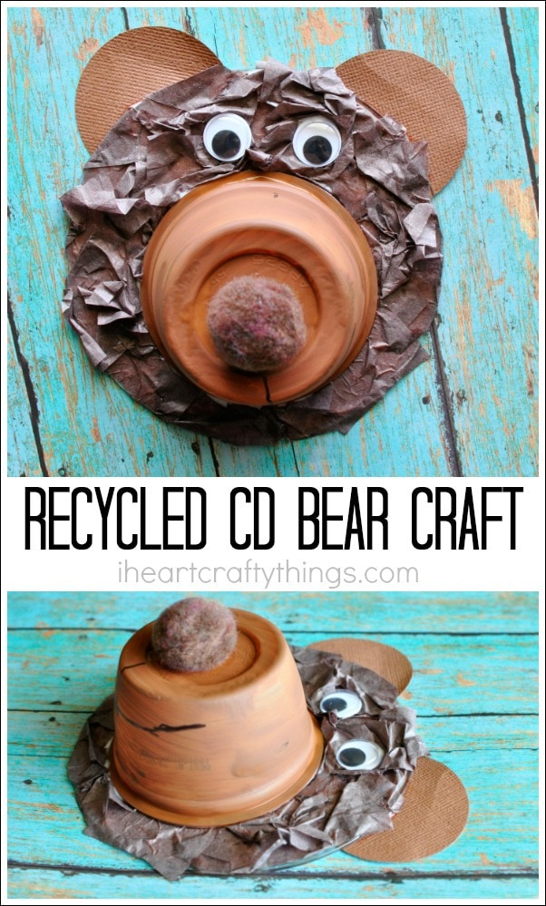 recycled-cd-bear-craft