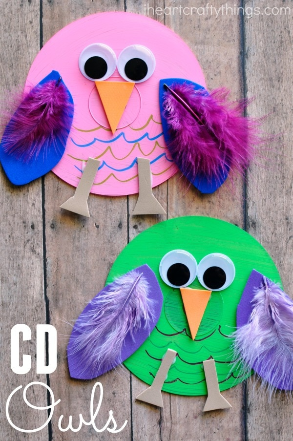 recycled-cd-owl-craft