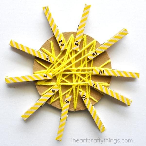 yarn-wrapped-sun-craft-3