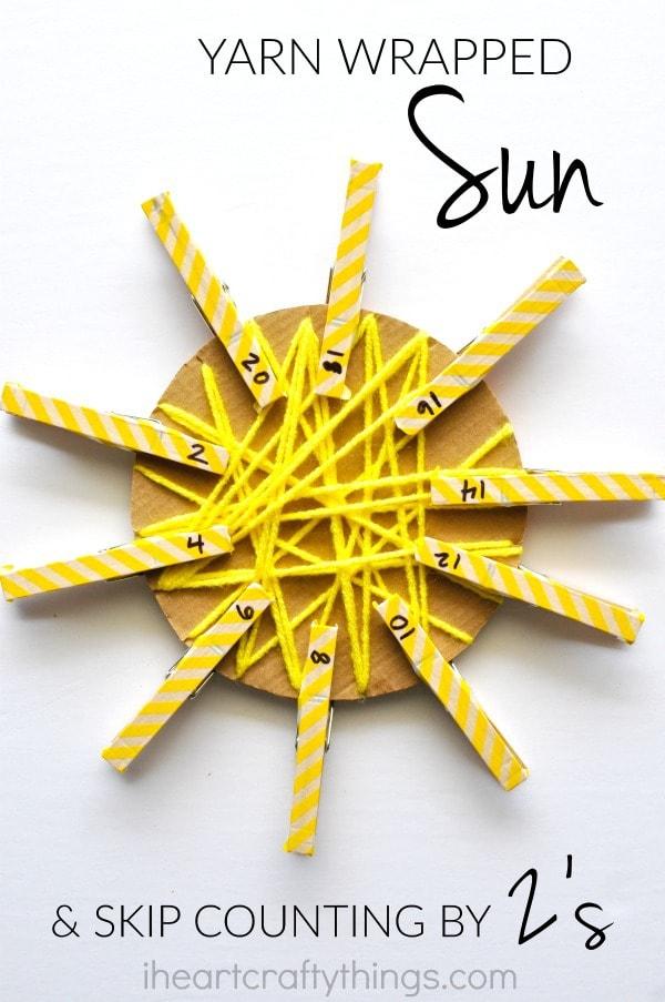 yarn-wrapped-sun-skip-counting