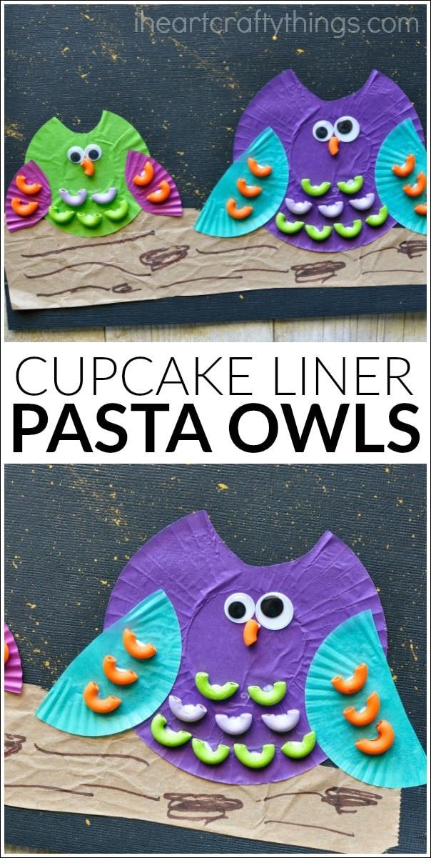 cupcake-liner-pasta-owl-craft-4