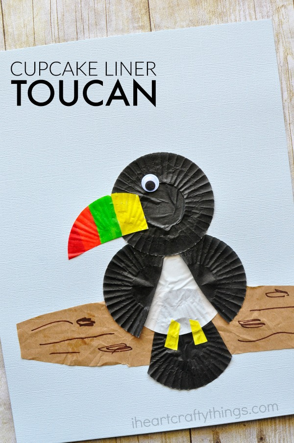 cupcake-liner-toucan-craft
