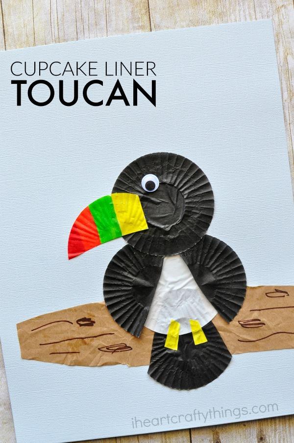 cupcake-liner-toucan-craft