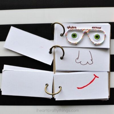 DIY Funny Face Flip Book