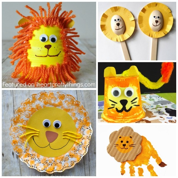 50+ Zoo Animal Crafts for Kids | I Heart Crafty Things