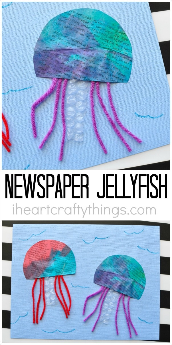 newspaper-jellyfish-craft-4