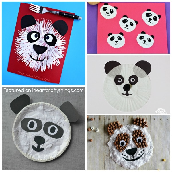 panda crafts for preschoolers 50 zoo animal crafts for i crafty things 496