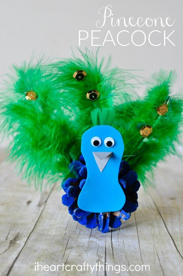 10 Pretty Peacock Crafts For Kids I Heart Crafty Things
