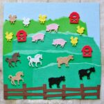 Simple Farm Craft with Stickers