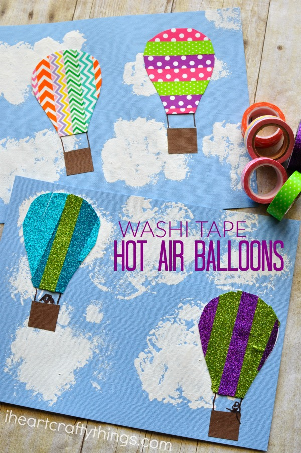 washi-tape-hot-air-balloon-craft