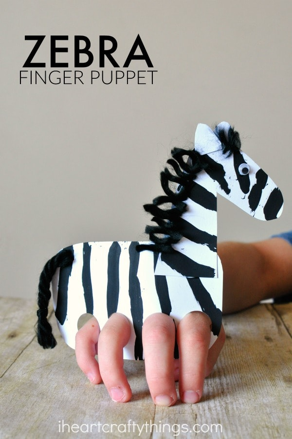 zebra-craft-finger-puppet