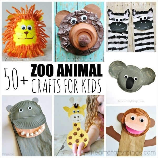Zoo Animal Craft Ideas