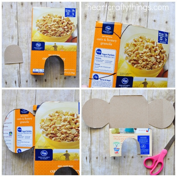 Awesome Cereal Box Elephant Craft